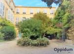 Jardin intérieur oppidum-immo cour centre-ville provence